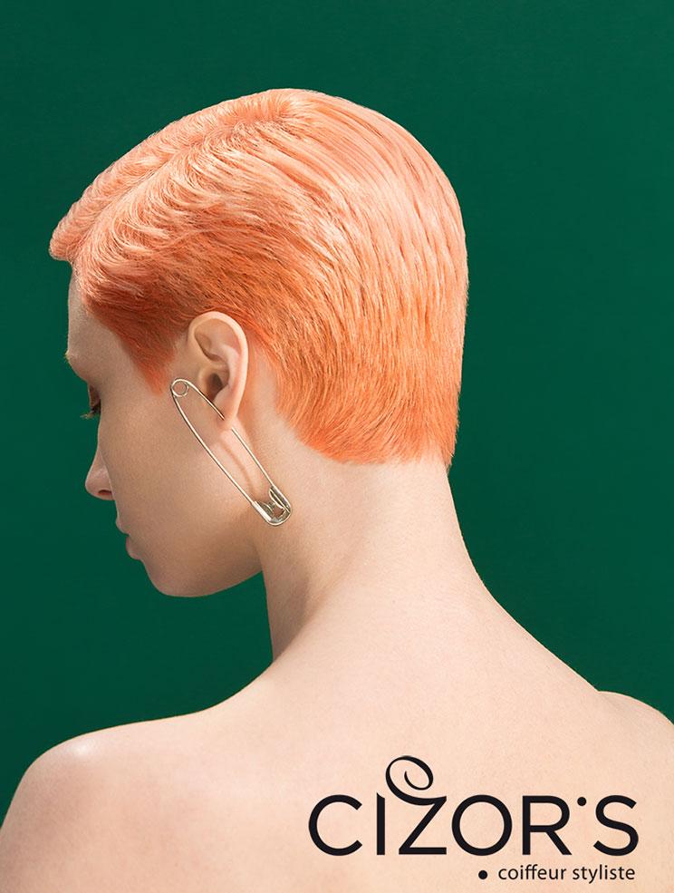 Pink - Coupe courte et couleur by Cizor's
