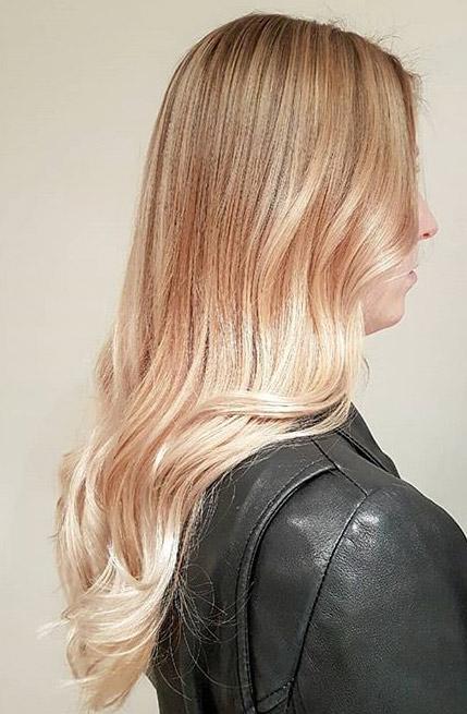 Shiny blonde par Charlotte
