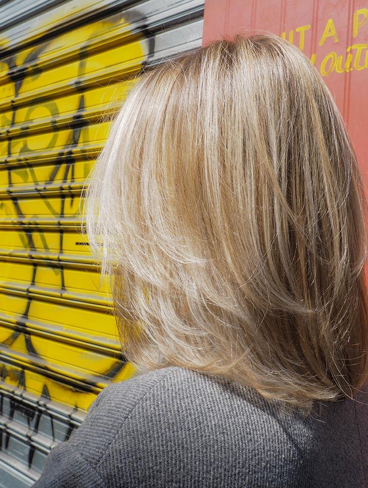 Balayage réalisé par Cizors coiffeur visagiste Paris