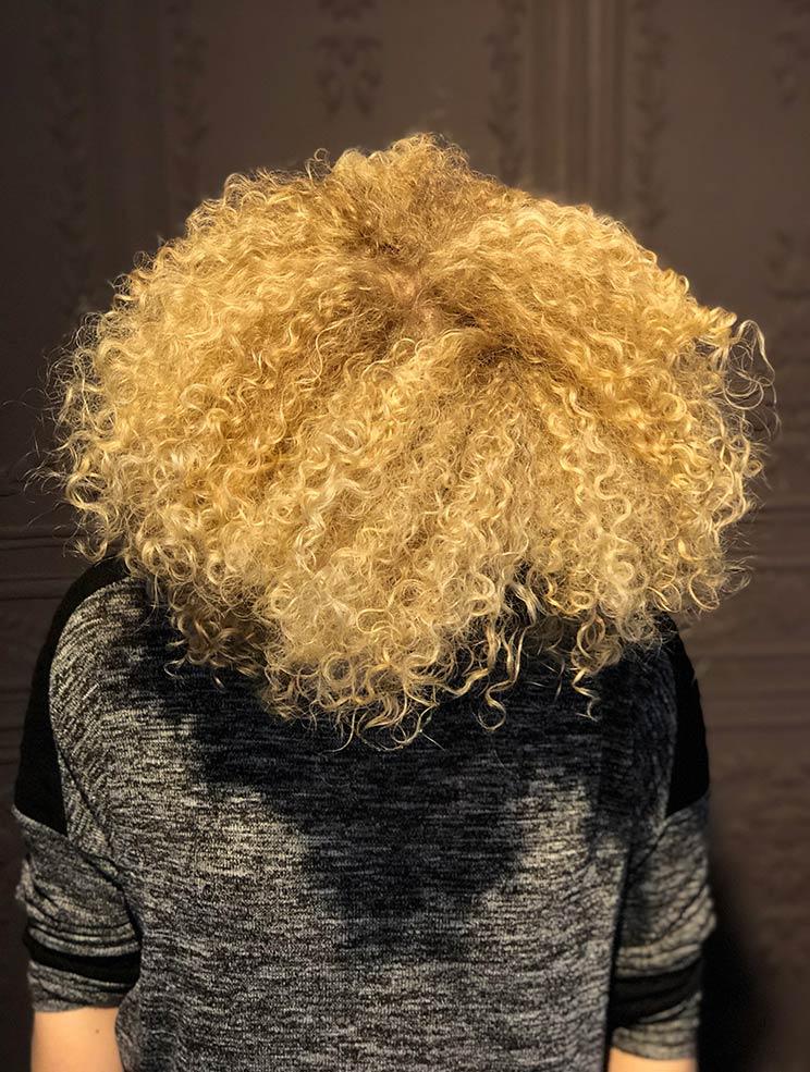 Coupe cheveux afro par Anthony Cizor's Paris